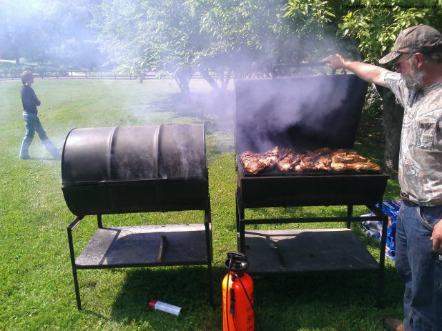 BBQ Chicken dinner at 11-12:30pm... 8.00 if you aren\'t doing the ride.  Come out for some good food and to support the local K9 and dog park.