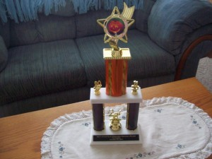 Image for Mummers Parade 2nd Place Trophy for pet division